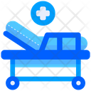 Hospital Bed Medical Bed Sleep Icon