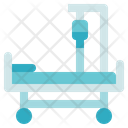 Medical Service Hospital Bed Treatment Icon
