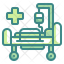 Hospital Bed Bed Patient Icon