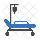 Bed Drip Hospital Icon