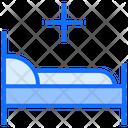 Treatment Hospital Bed Icon