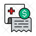 Bill Medical Receipt Icon