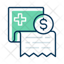 Bill Hospital Bill Medical Bill Icon