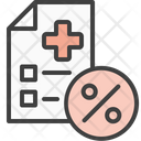 Hospital Bill Medical Medical Bill Icon