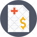 Hospital Bill Clinic Icon