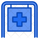 Hospital Medical Health Icon