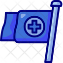 Hospital Board Hospital Sign Flag Icon