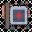 Board Hospital Medical Icon