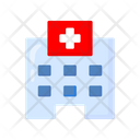 Hospital Building Hospital Clinic Icon