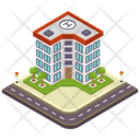 Infirmary Clinic Hospital Icon