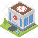 Hospital Building Architecture Icon