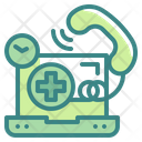 Hospital Call Medical Call Phone Call Icon