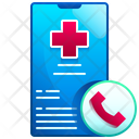 Hospital Call Emergency Call Medical Call Icon