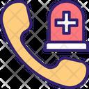 Hospital Call Emergency Call Help Line Icon