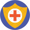 Hospital Care Shield Icon