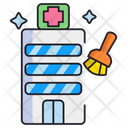 Hospital Cleaning Icon
