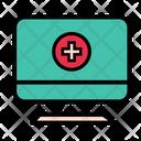 Hospital Computer Icon