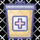 Hospital Dustbin Icon