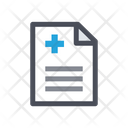 Hospital File Medical File Medicine Icon