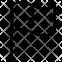 Hospital Flag Insignia Icon