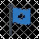 Flag Medical Healthcare Icon