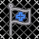 Hospital Flag Icon
