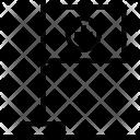 Hospital Flag Symbol Icon