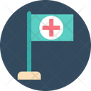 Hospital Flag Hospital Symbol Flag Icon