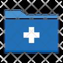 Hospital Folder Folder Medical Record Icon