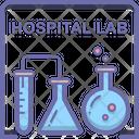 Hospital Lab Icon