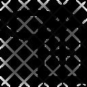 Hospital Label Icon