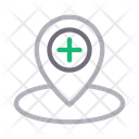 Hospital location Icon