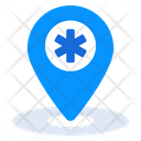 Hospital Location Medical Location Location Pointer Icon