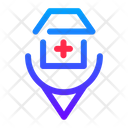 Location Medical Health Icon