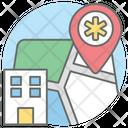 Hospital Location Hospital Address Clinic Icon