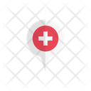 Location Clinic Map Icon