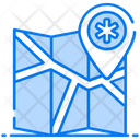 Hospital Location Hospital Map Road Map Icon