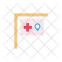 Board Location Hospital Icon