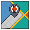 Map Location Hospital Icon