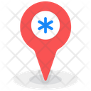 Hospital Location Hospital Nearby Map Navigation Icon