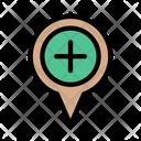 Map Location Navigation Icon