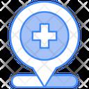 Hospital Location Clinic Hospital Hospital Icon