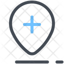 Hospital Location Medical Location Map Icon