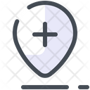 Map Pin Mark Icon