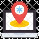 Hospital Location Medical Location Pharmacy Location Icon