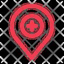 Hospital Location Icon