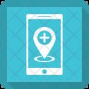 Hospital Location Mobile Icon