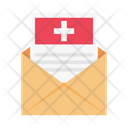 Medical Message Email Icon