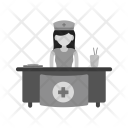 Hospital reception Icon