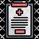 Clipboard Emergency Rescue Icon